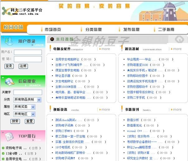 javaweb二手交易平台 校园二手交易系统 二手交易网站源码 源程序